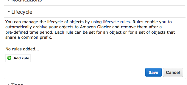 AWS Lifecycle